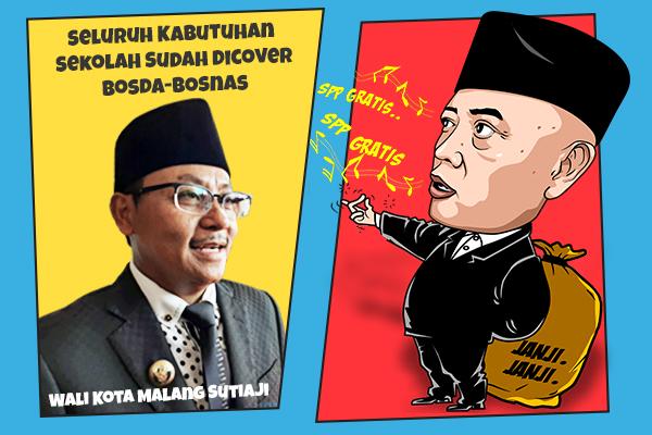 Beda dengan Kabupaten, di Kota Malang SPP Gratis Sudah Berjalan 10 Tahun