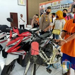 Jambret  Pakai Sepeda Pancal, Residivis di Kota Blitar Sasar Pelajar