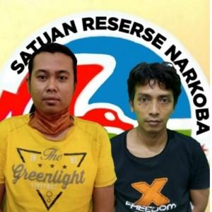TO Polisi, Dua Pengedar Narkoba di Jombang Akhirnya Dibekuk