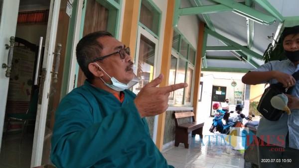 Kabid P2M Dinkes Tulungagung Didik Eka (Joko Pramono for Jatim TIMES)