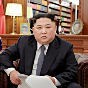 Sempat Diklaim Koma, Kim Jong Un Kepergok Kunjungi Lokasi Bencana Topan Bavi