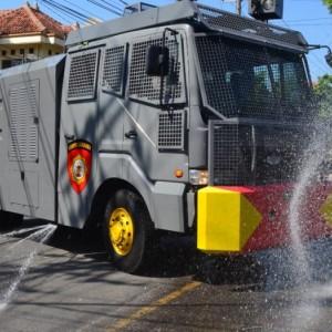Hadapi Covid-19, Mobil Taktis Anti Huru-hara Diterjunkan