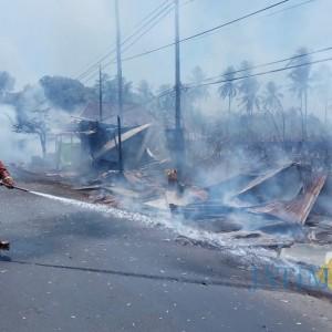 Sekitar 60 Persen Insiden Kebakaran di Kabupaten Malang Disebabkan ini