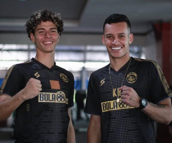 Dua penggawa muda baru Arema FC asal Brasil (official Arema FC)