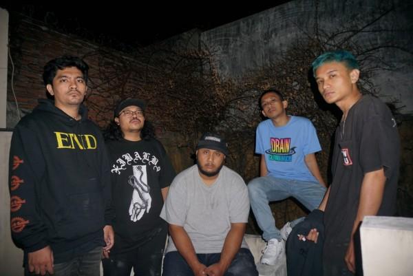 Noose Bound unit Metallic Hardcore asal Malang yang berhasil menggebrak telinga para pendengar musik cadas. (Foto: Dok. Noose Bound)