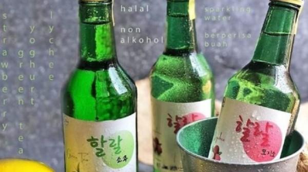 Wah! Buat Penggemar Drama Korea Wajib Coba Nih, Kini Ada Soju Halal di Indonesia