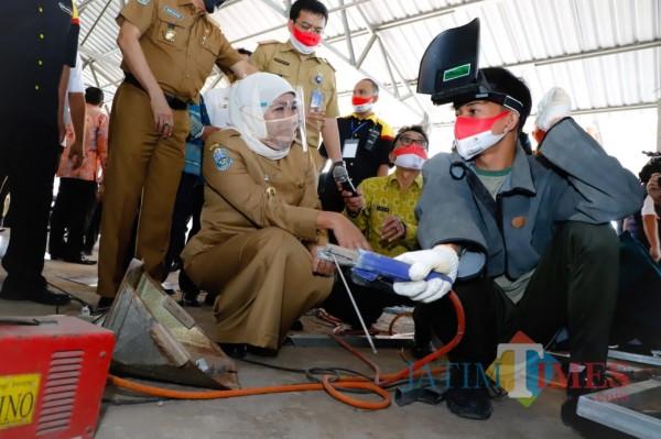 Pemprov Jatim Prioritaskan SMK Sekolah Tatap Muka di Tengah Pandemi Covid-19