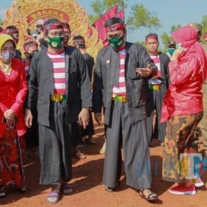 Berkunjung Ke Pamekasan, Menteri Desa PDTT Disambut Bupati Baddrut Tamam