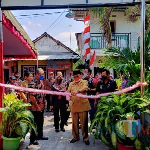 Kota Blitar Bebas Kumuh, Wali Kota Santoso Tinjau dan Resmikan Program Kotaku