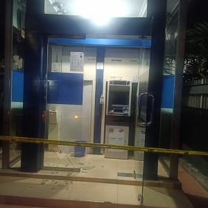 Percobaan Perampokan di Gerai ATM Bank Mandiri, Pelaku Sempat Letuskan 3 Kali Tembakan