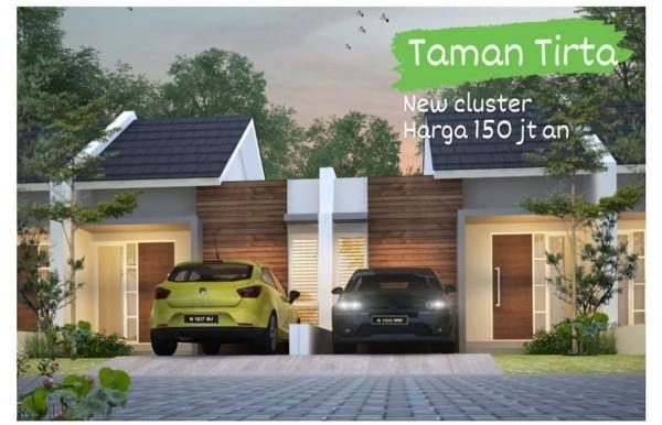 New cluster Taman Tirta Malang edisi rumah murah hanya Rp 150,5 juta. (Foto: istimewa)