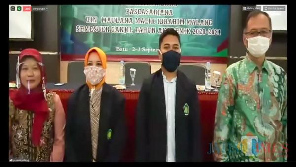Rektor UIN Malang Minta Maba Pascasarjana Siapkan Tesis dan Disertasi Sejak Dini