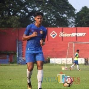 Septian Satria Bagaskara Buru Gol Perdananya di Kompetisi Liga 1