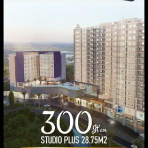 Ada Apartemen Studio Luas, Hanya Rp 300 Juta-an, Cara Bayar Suka-Suka Anda, Mau?