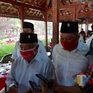 SanDi Gemuk, Sanusi: Bukan Khawatir Lawan Penantang, Ini Kebersamaan