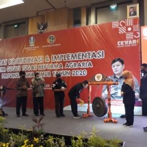 Kementrian ATR Janjikan Reforma Agraria Lebih Cepat di Jatim