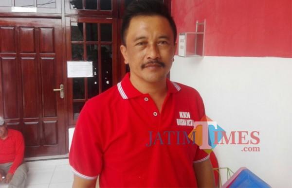 Ketua DPC Partai Gerindra Kabupaten Blitar Mujib