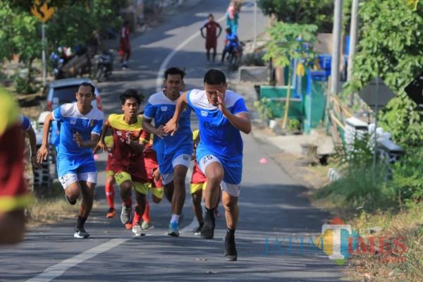 Libur Panjang Pertandingan, Pelatih Persik Kediri Genjot Fisik Para Pemainnya