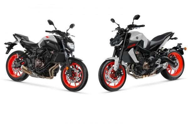 Yamaha MT-07 dan MT-09 (Foto: halloindo.com)
