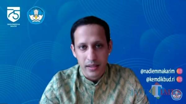Mendikbud Yakinkan Kurikulum Darurat Tak Turunkan Kualitas Kurikulum Indonesia