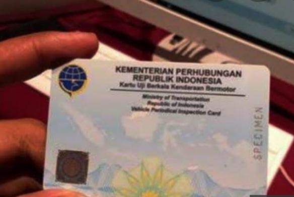 Ilustrasi smart card pengganti buku uji KIR. (Foto: Istimewa).