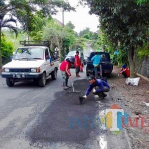 Di Kota Batu Jalan Rusak Berat Tersisa 10 Ribu Kilometer