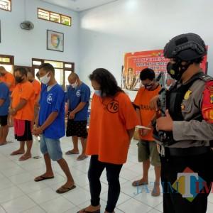 12 Pengedar Narkoba Digaruk Polisi, Satu Diantaranya Ibu Rumah Tangga