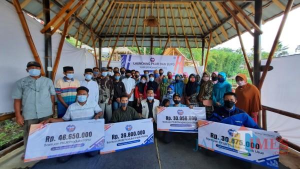 YBM-BRI Kanwil Malang Launching PKUR dan BUPD di Bondowoso