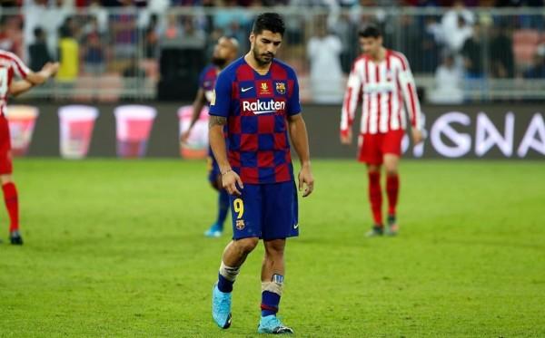 Luis Suarez saat masih membela Barcelona di La Liga (Instagram Luis Suarez)