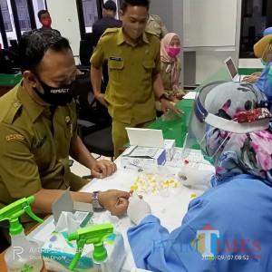Puluhan Anggota dan Staf DPRD Ngawi Jalani Rapid Test, Hasilnya?