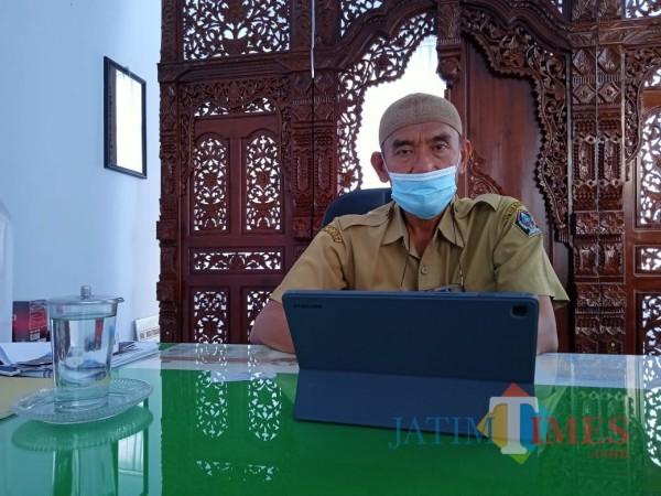 Kepala Dispendukcapil Kabupaten Blitar, Luhur Sejati.(Foto : Aunur Rofiq/BlitarTIMES)