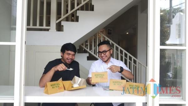 Suguhkan Kemasan Unik, Warteg BUngKUS Bikin Kulineran di Rumah Serasa Restoran
