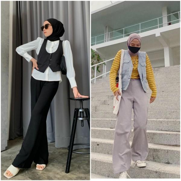 Inspirasi Padu Padan Vest, Mulai Formal Look, Boyish, Hingga Playfull