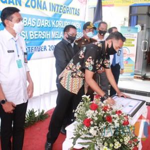 BNN Kabupaten Malang Canangkan Zona Integritas