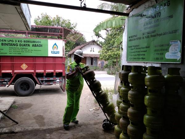 Gas Elpiji 3 Kilogram Subsidi Telat di Jombang, Ini Penjelasan Pertamina
