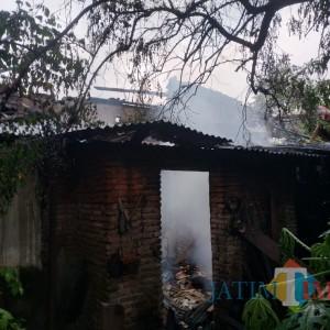 Rumah di Singosari Terbakar, Kerugian Ratusan Juta