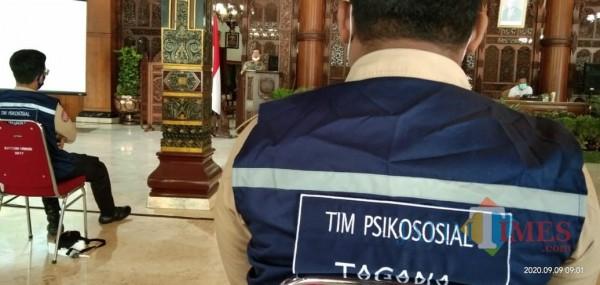 Tim Pendamping Psikologi Relawan Penanganan Vovid 19 Tulungagung (Joko Pramono for Jatim TIMES)