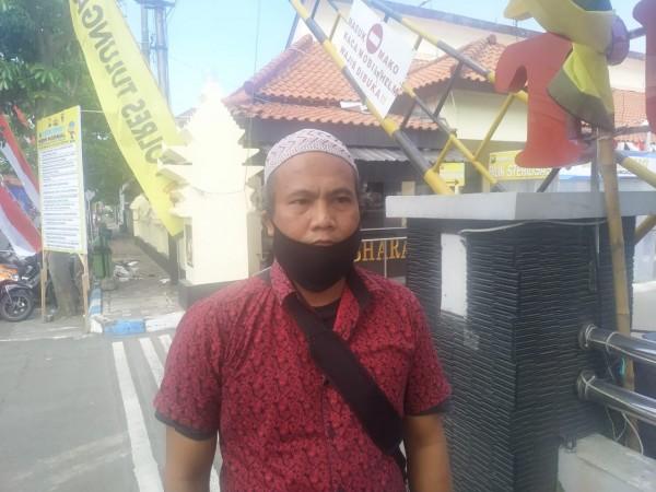 Nanang Rohmat, kader yang juga mengaku ketua DPC PBB hasil Muscab / Foto : Anang Basso / Tulungagung TIMES