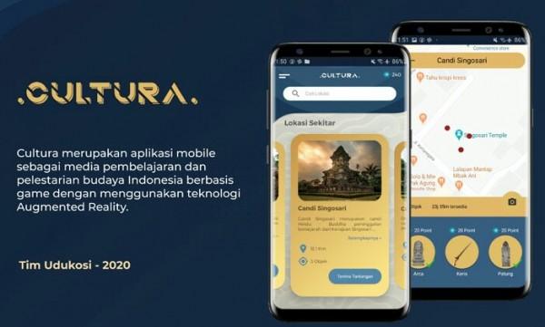 Cultura, sebuah aplikasi mobile media pembelajaran dan pelestarian budaya Indonesia berbasis game. (Foto: istimewa)