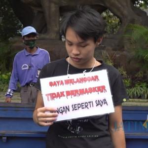 Persentase Warga Tak Pakai Masker Tinggi, Forkompimda Kota Malang Turun ke Jalan