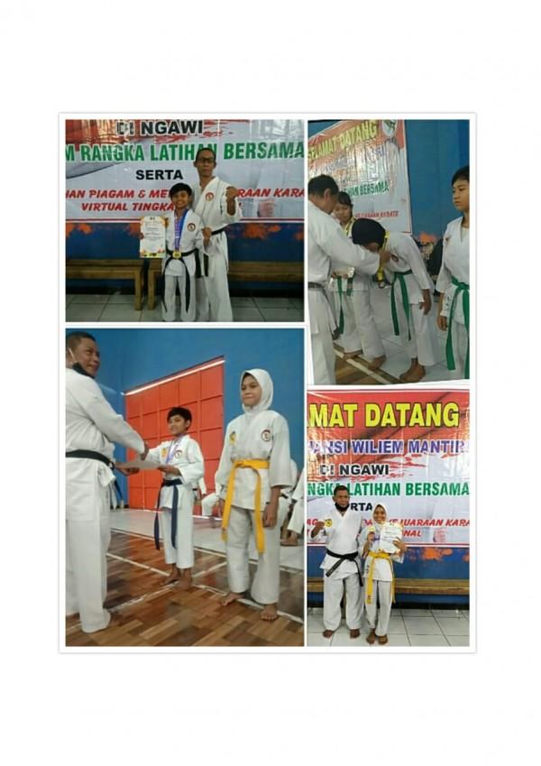 Fyfy, Karateka Kid Berprestasi Asal Ngawi