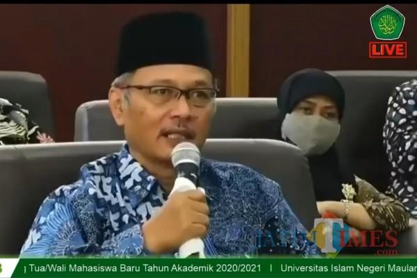 Kuliah Jarak Jauh, Rektor UIN Malang Tetap Pertahankan Taklim Ma'had untuk Maba