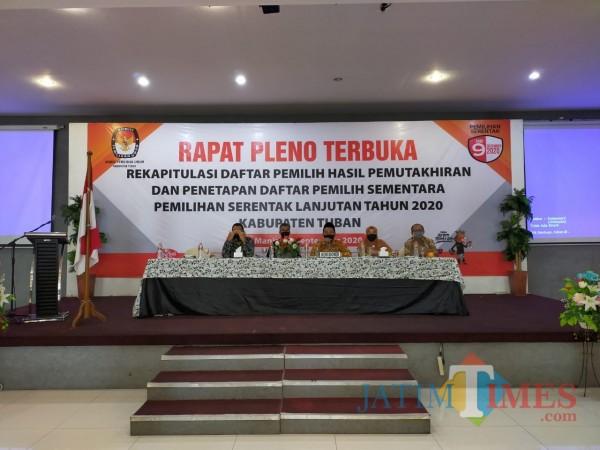 Rapat Pleno DPHP dan DPS Kabupaten Tuban Ditunda, Karena Ini