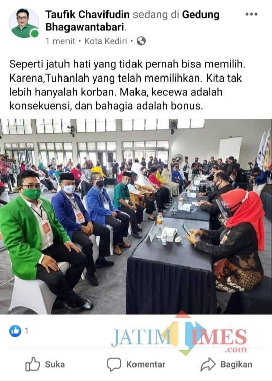 Sempat Muncul Koalisi Bayangan, Sembilan Parpol Pendukung Dhito-Dewi Terbelah?