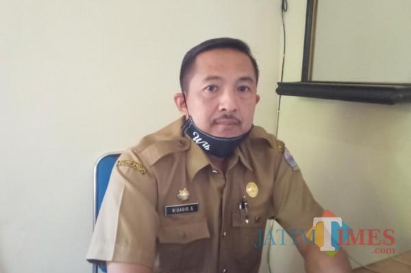 Wibagio Suharta, kepala Dinsos Bangkalan (foto/ imam faikli)