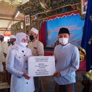 Telan Anggaran Rp 6,9 M, Ribuan Paket Sembako Dibagikan ke Ponpes dan Disabilitas