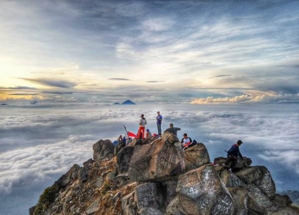 Animo Pendakian Tinggi, Sehari Gunung Arjuno Didaki 115 Orang Lewat Jalur Sumber Brantas