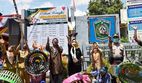 Bunda Indah di Desa Kalisemut (Foto: Dokumentasi Kominfo)
