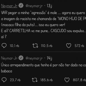 Neymar Curhat di Twitter karena Alami Pelecehan Rasial dari Pemain Marseille