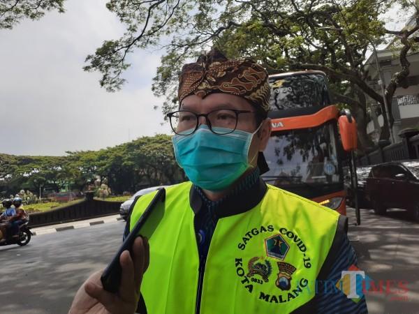 Kabid Pencegahan dan Pengendalian Penyakit (P2P) Dinkes Kota Malang dr Husnul Muarif (Arifina Cahyanti Firdausi/MalangTIMES).